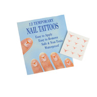 Texas Longhorn Temporary Nail Tattoos (3510-00025)