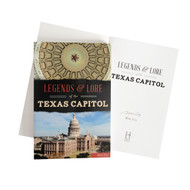 Legends & Lore of the Texas Capitol-Book (Signed by the Author)