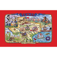 Texas Destinations Kitchen Towel