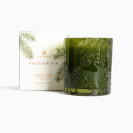 Thymes Frasier Fir Molded Glass Candle 6.5oz (520535000)