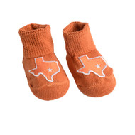 Texas Newborn Booties (2 Colors)(Gift Box)