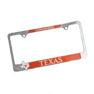 Texas Longhorn State Pride License Plate Frame (STATEPRIDE)