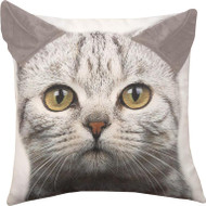Cat Print Pillow with 3D Ears (IPPTCA)