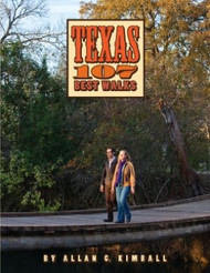 Texas 107 Best Walks-Mini Book