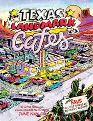 Texas Landmark Cafes-Mini Book