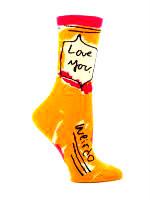 Blue Q Love You, Weirdo Socks (SW444)