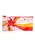 Blue Q I'm a Girl, What's Your Super Power? Accessories Case (QA759)