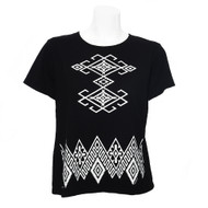Sabaku Black & White Short Sleeve Tee (290MIDSS)