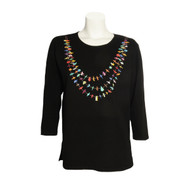 Sabaku Fetish Necklace 3/4 Sleeve Tee (258MID34S)