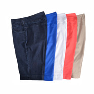 Thin Her Pull-On Shorts (6 Colors)(9509P)