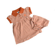 Texas Stripe Dress with Bloomers
