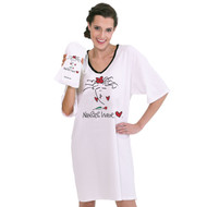 Nurses Have Heart Nightshirt in a Bag (One Size)