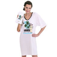 """Fun, Sun, Rum"" Nightshirt in a Bag (One Size)"