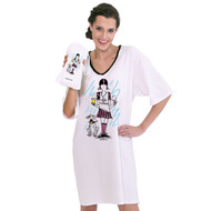 """""""I'd rather be tailgating"""" Nightshirt in a Bag (One Size)"""