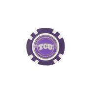 TCU Golf Chip/Ball Marker