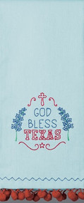 God Bless Texas Kitchen Towel