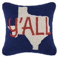 Texas Y'all Crewel Pillow