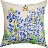 Bluebonnets in Bloom Pillow (SLBLBM)