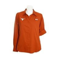 Texas Longhorn Ladies Columbia Tamiami Shirt (UT1702200093)