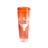 Texas Longhorn Double Insulated Tumbler (RW16TT)