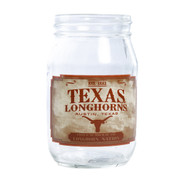 Texas Longhorn Mason Jar Glass (2021)