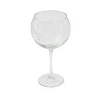 Texas Longhorn Etched Red Wine Glass (EBWG)