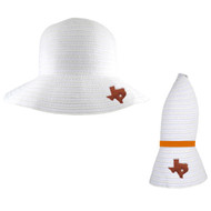 Amelia Collapsible Sun Hat (4309-Wht)