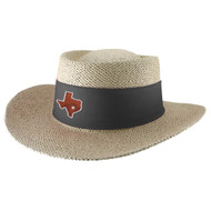Straw Tournament Gambler Hat (88-Bircha)