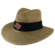 Straw Angler Safari Hat (89-Natblk)