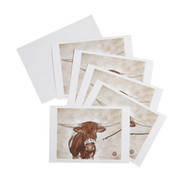 Texas Longhorn Bevo Notecards