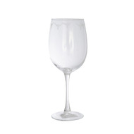 Texas Longhorn Repeat Etched Wine Glass (RREW19)