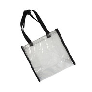 Clear Tote-Black (214CST)