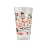 Texas Longhorn Campus Wrap Frosted Glass (CP2023F)