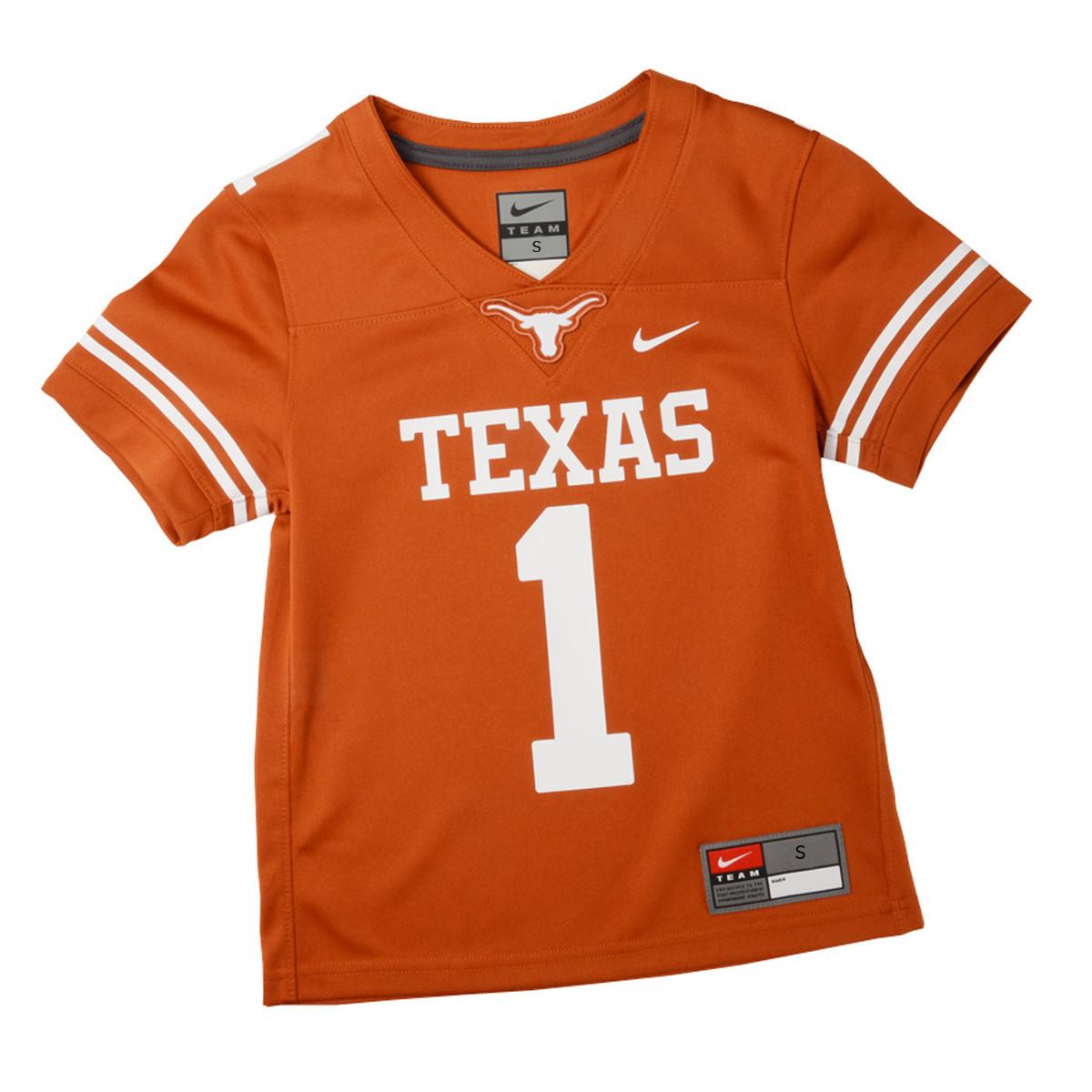 texas longhorns jersey