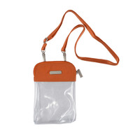Baggallini Stadium Clear Bryant Crossbody (Multiple Colors) (CBR358)