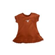 Texas Longhorn Infant Ruffle Dress (62070TX-I)