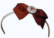 Texas Longhorn Ribbon Head Band (25621)