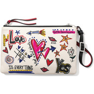 Brighton Gotta Have Heart Cross Body Pouch (E5229M)