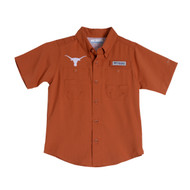 Texas Longhorn Youth  Columbia Tamiami Shirt (UT170230066)