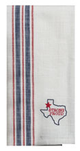Texas Pride Embroidered Tea Towel (R4318)