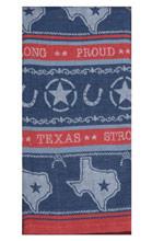Texas Pride Jacquard Towel (R4308)