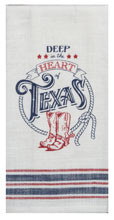 Deep in the Heart of Texas Tea Towel (R4307)