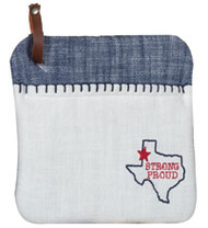 Texas Pride Embroidered Oven Mitt (R4302)