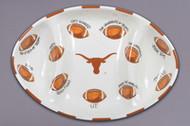Texas Longhorn Football Platter (22542)