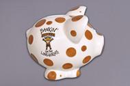 Texas Longhorn Piggy Bank (52567)
