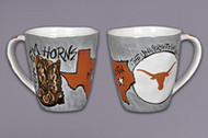 Texas Longhorn Artwork Mug (52565)
