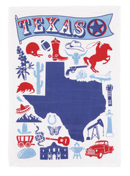 Texas Icon Towel (04JSS619WC)