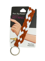 Pom Braided Key Keeper (48306)