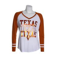 Texas Longhorn Hera Foil Tee (10000642)