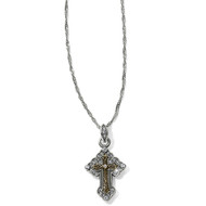 Brighton Petite Greek Cross Necklace (JL9052)